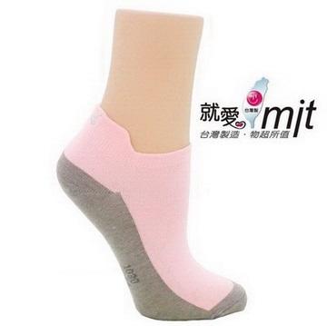 除臭造型船襪-(淺三 花 襪子粉)襪子