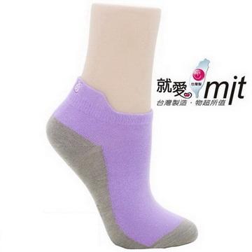 除臭造型船快速 除 腳 臭襪-(淺紫)襪子