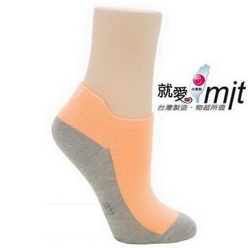 除臭造型船襪-(淺橘)襪子    抗菌 除 臭 襪 推薦